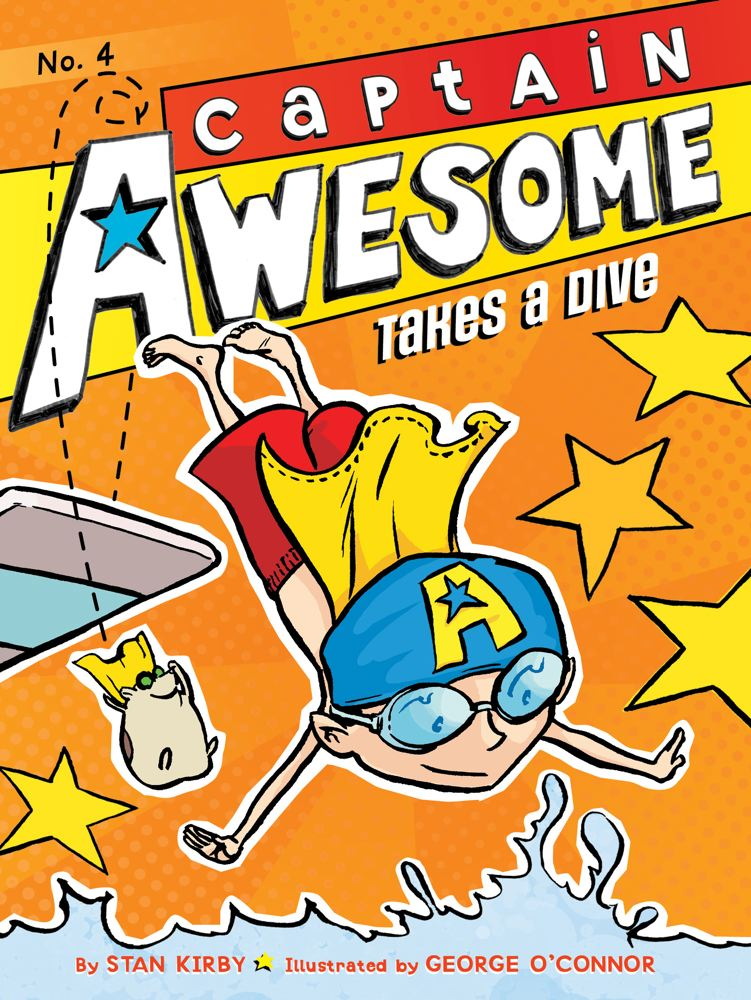 Captain Awesome Takes a Dive Cover Image