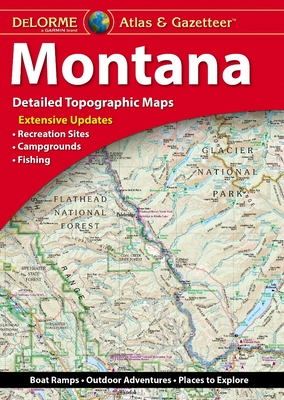 Delorme Atlas & Gazetteer: Montana Cover Image