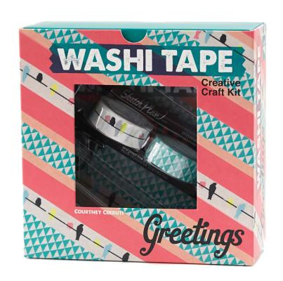 Washi Tape Greetings: Creative Craft Kit Cover Image