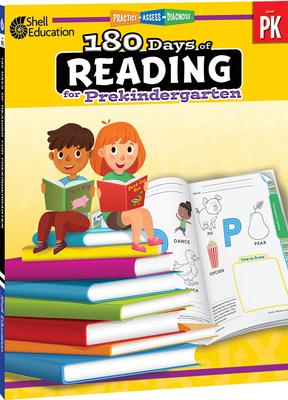 180 Days of Reading for Prekindergarten Cover Image