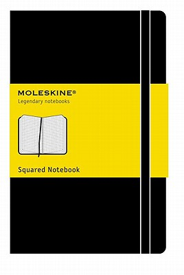 Moleskine Classic Notebook, Pocket, Squared, Black, Hard Cover (3.5 x 5.5) (Classic Notebooks) Cover Image