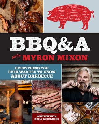 Cover for BBQ&A with Myron Mixon