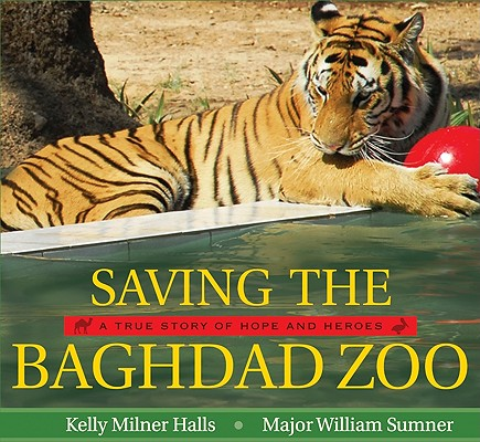 Saving the Baghdad Zoo Cover