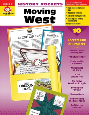 Moving West Grade 4-6+ (History Pockets) Cover Image