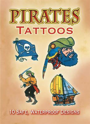 Pirates Tattoos (Dover Tattoos) Cover Image