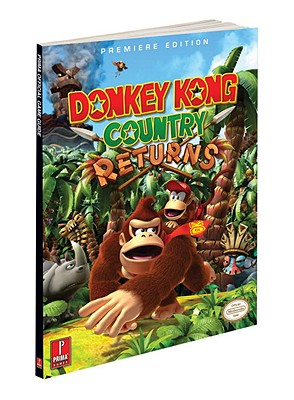 Donkey Kong Country Returns [With Poster] Cover