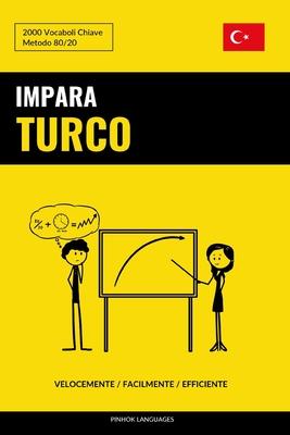 Impara il Turco - Velocemente / Facilmente / Efficiente: 2000 Vocaboli Chiave Cover Image