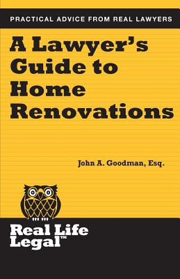 A Lawyer's Guide to Home Renovation Cover Image