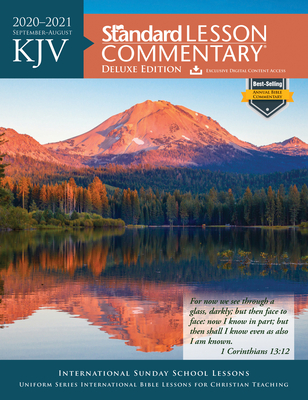 KJV Standard Lesson Commentary® Deluxe Edition 2020-2021 Cover Image