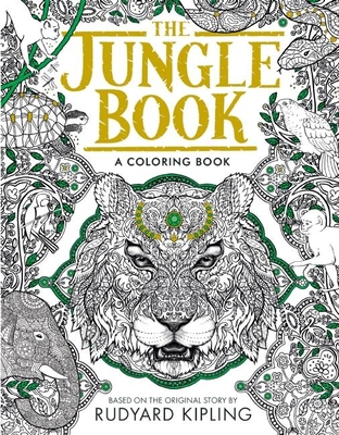 The Jungle Book: A Coloring Book (Paperback) | Politics and Prose ...