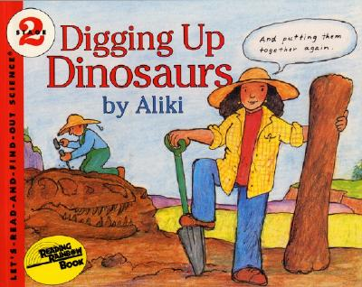 Digging Up Dinosaurs Book and Tape Cover