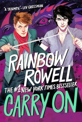 Carry On (Simon Snow Trilogy #1) Cover Image