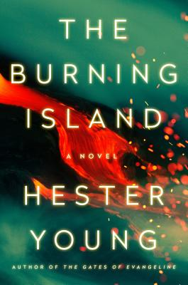 Cover for The Burning Island