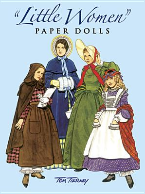 Little Women Paper Dolls Cover Image