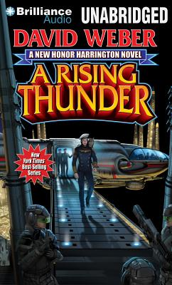 Cover for A Rising Thunder (Honor Harrington #13)