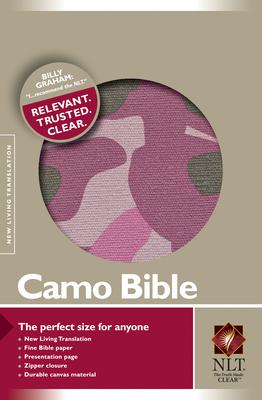 Camo Bible-NLT-Zipper Cover Image