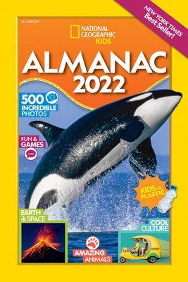 National Geographic Kids Almanac 2022, U.S. Edition Cover Image