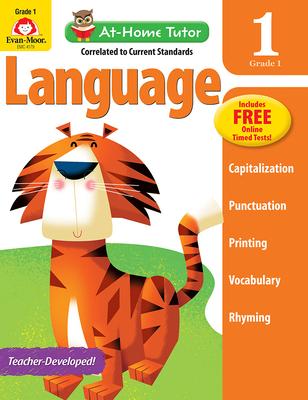 At Home Tutor Language, Grade 1 (At-Home Tutor) Cover Image