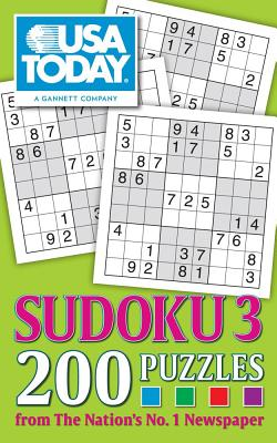 USA TODAY Sudoku 3: 200 Puzzles (USA Today Puzzles #20) Cover Image