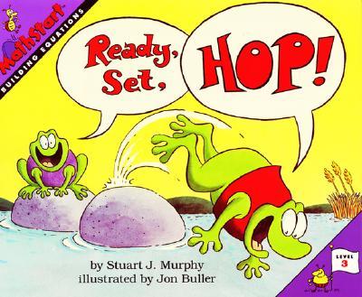 Ready, Set, Hop! (MathStart 3) Cover Image