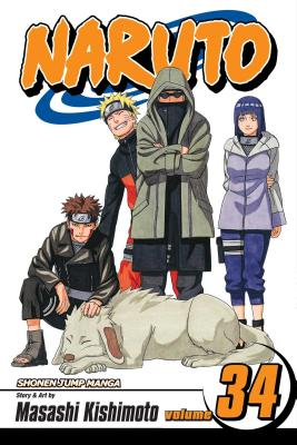 Naruto, Vol. 34 cover image