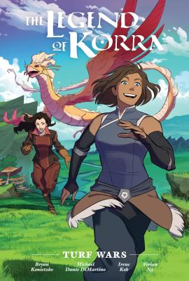 The Legend of Korra: Turf Wars Library Edition Cover Image