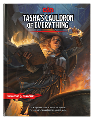 Tasha's Cauldron of Everything (D&D Rules Expansion) (Dungeons & Dragons) Cover Image