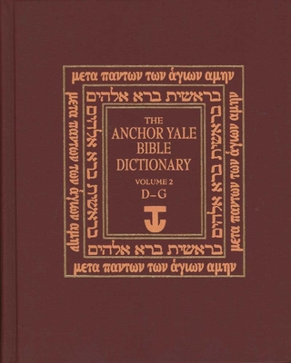 The Anchor Yale Bible Dictionary, D-G Cover