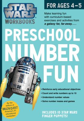 Star Wars Workbook: Preschool Number Fun (Star Wars Workbooks) Cover Image