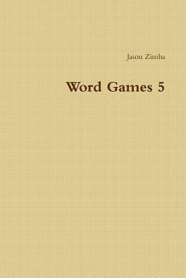 Word Games 5 Cover Image