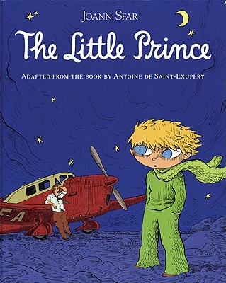 The Little Prince Graphic Novel Cover