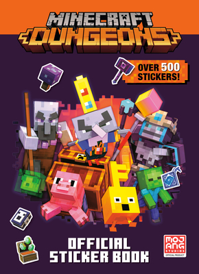 Cover for Minecraft Official Dungeons Sticker Book (Minecraft)