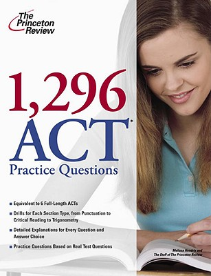 1,296 ACT Practice Questions Cover Image