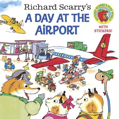 Richard Scarry's a Day at the Airport Cover