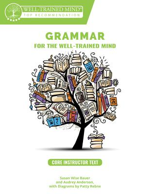 Core Instructor Text: A Complete Course for Young Writers, Aspiring Rhetoricians, and Anyone Else Who Needs to Understand how English Works (Grammar for the Well-Trained Mind #1) Cover Image