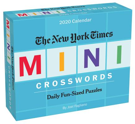 The New York Times Mini Crossword Puzzles 2020 Day-to-Day Calendar Cover Image