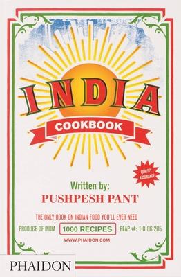 India Cookbook Cover Image