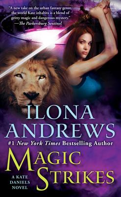 Magic Strikes (Kate Daniels #3) Cover Image