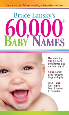 60,000+ Baby Names Cover Image