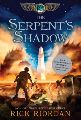 Kane Chronicles, The  Book Three The Serpent's Shadow Cover Image