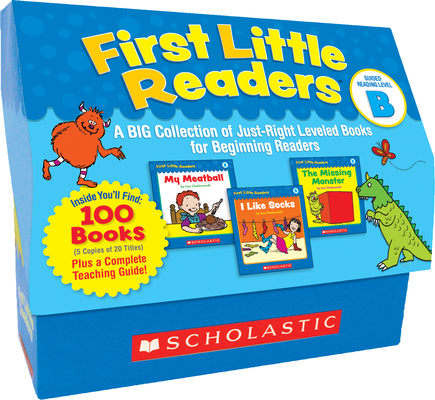 First Little Readers: Guided Reading Level B (Classroom Set): A Big Collection of Just-Right Leveled Books for Beginning Readers Cover Image