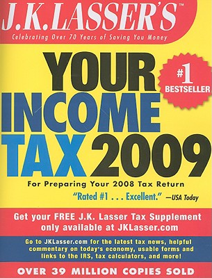 J.K. Lasser's Your Income Tax: For Preparing Your 2008 Tax Return Cover Image
