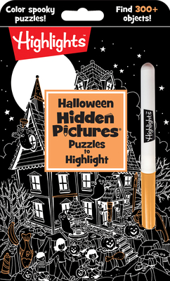 Halloween Hidden Pictures® Puzzles to Highlight (Highlights(TM) Hidden Pictures® Puzzles to Highlight Activity Books) Cover Image
