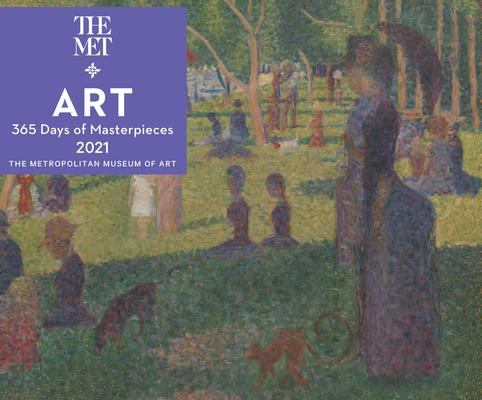 Art: 365 Days of Masterpieces 2021 Desk Calendar Cover Image