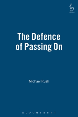 The Defence of Passing On Cover Image