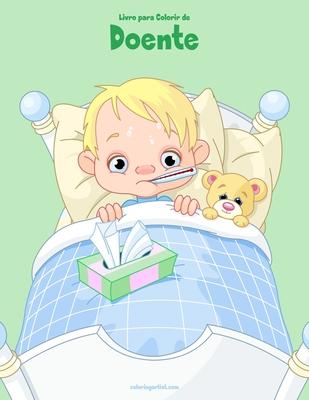 Livro para Colorir de Doente Cover Image