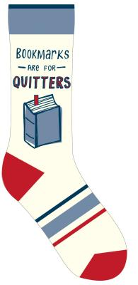 Bookmarks Are for Quitters Socks Cover Image