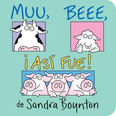 Muu. Beee. Asi Fue! (Moo, Baa, La La) Cover