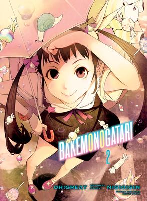 BAKEMONOGATARI (manga), volume 2 Cover Image