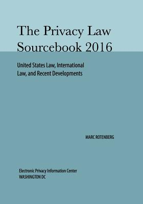 Privacy Law Sourcebook 2016 Cover Image